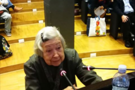 Lidia Menapace al decimo Festival mediterraneo della laicita'