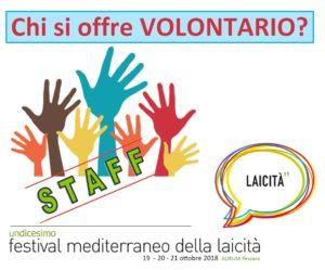 Volontario alla undicesima edizione